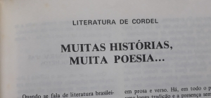 Página do livro Autores de Cordel