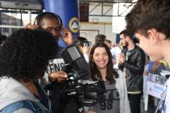 Alunos de jornalismo da FAESA Durante Simpósio de Profissões / Foto: Gustavo Rodrigues