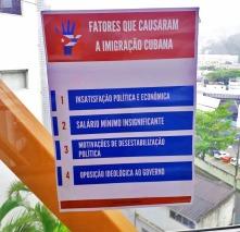 Cartaz produzido pelos alunos.