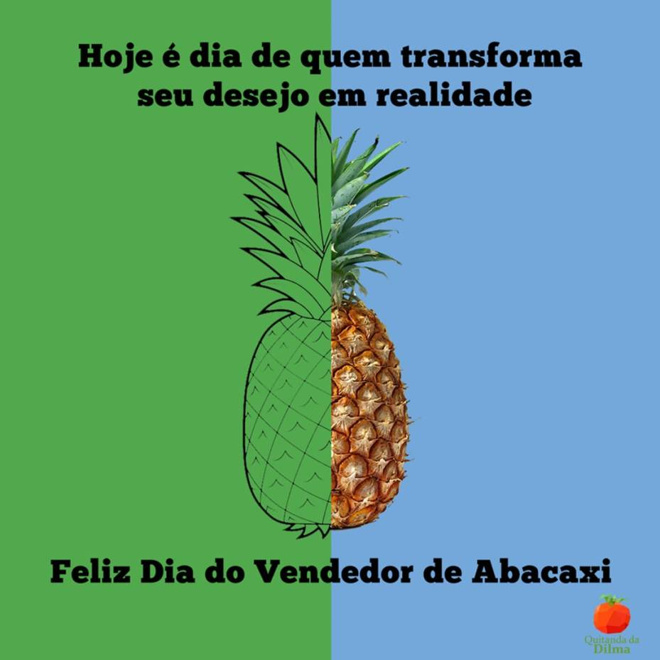 Dia do Vendedor de Abacaxi