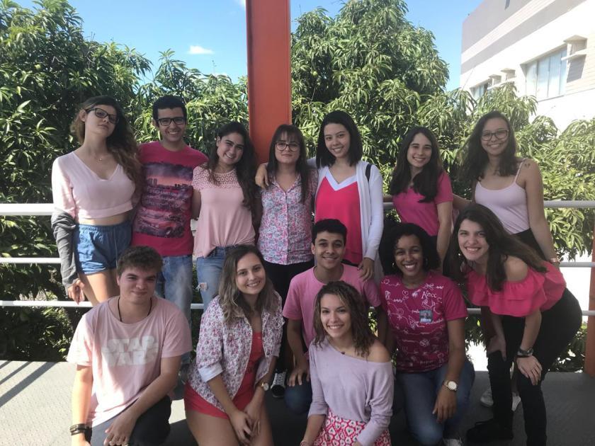 Alunos de jornalismo da Faesa - Meninas Malvadas