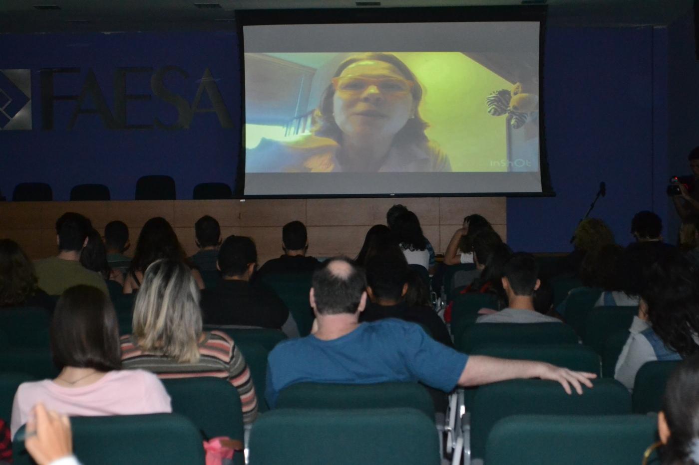 Professora Stella Santana - Culturalize - FAESA
