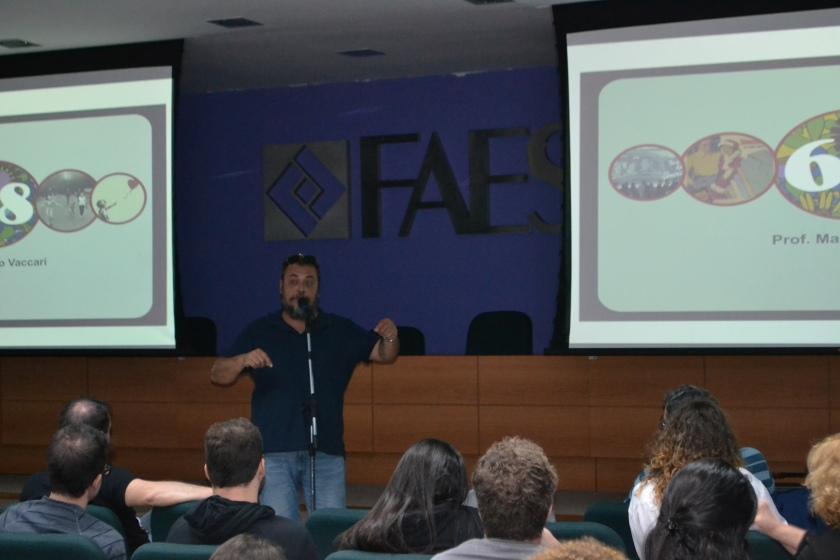 Professor Marcio Vaccari - Culturalize - FAESA