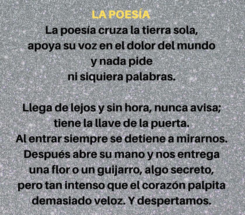 La Poesia Eugenio Montejo