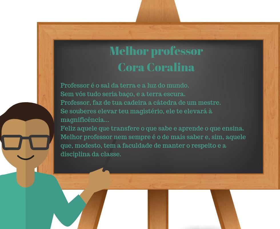 Melhor Professor - Cora Coralina