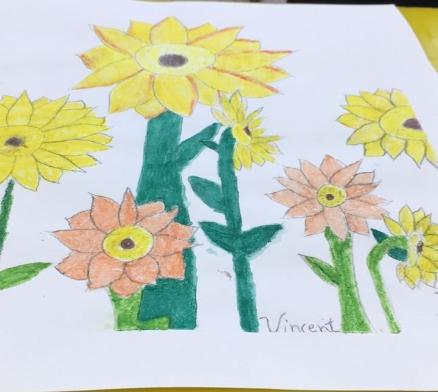 Doze Girassóis de Van Gogh