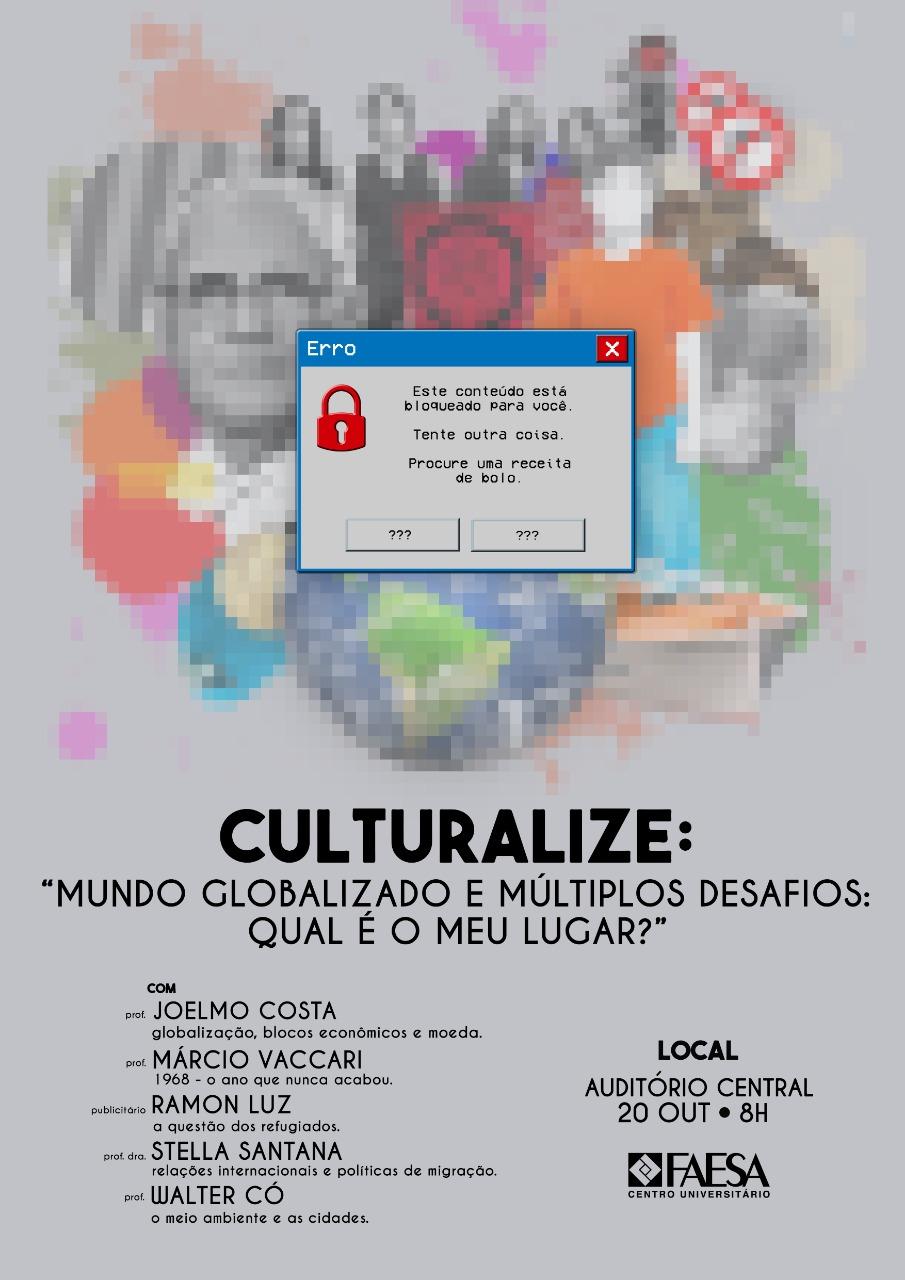Culturalize FAESA Globalização