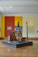Peça do interior do Museu Vale
