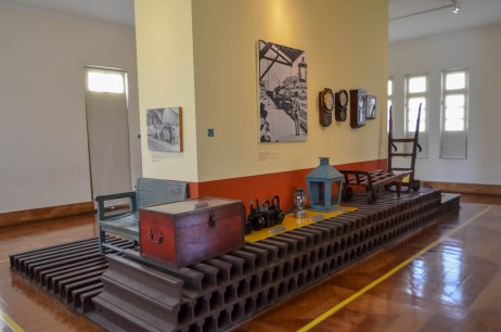 Área interna Museu da Vale / Foto: Gesiel
