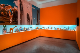 Projeto Educativo no Interior do Museu Vale / Foto: Bruno Stefano
