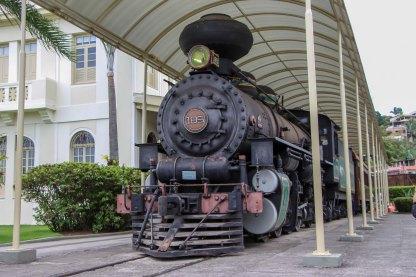 Trem no Museu Vale / Foto: Ana Zucoloto