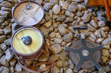Itens em exposição localizados dentro do Museu Vale / Foto: Ana Paula Senna