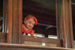 Criança fotografada no interior da Maria Fumaça, do Museu Vale em Vitória - Espírito Santo / Foto: Dhienyfer Freitas