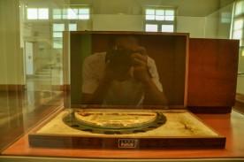 Exposição no interior do Museu Vale / Foto: Lucas Damacena