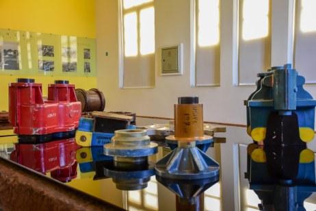 Objetos do Museu Vale em seu interior / Foto: Bruna Souza