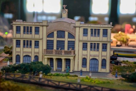 Maquete do museu da vale, exposição de miniaturas / Foto: Bruna Souza