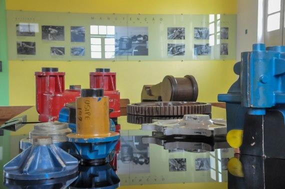Centro de Memória, localizado no interior do Museu Vale / Foto: Luis Matos
