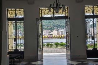 Arquitetura interior do Museu Vale / Foto: Luis Matos