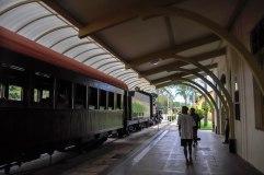 Velho Trem recebe a visita de alunos no Museu Vale / Foto: Antonio Lindenberg