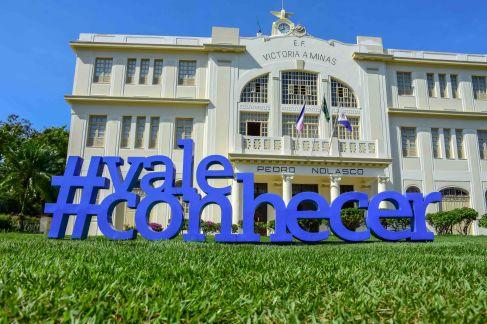 Frontal Museu Vale com #ValeConhecer / Foto: Carolina De Lai